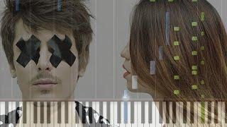 Время и Стекло - Имя 505 на пианино (кавер + урок)