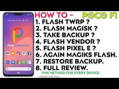 Pie) Pixel Experience ROM for Poco F1 Review | How to flash