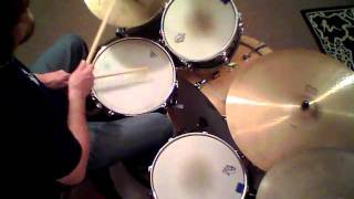 "Jon Biggs Pork Pie Drums "" Further To Fly "" - drum cover"