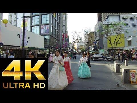 "[4K 2160p] Seoul Antique Street ""INSA-Dong""2/2 인사동.仁寺洞(インサドン)"