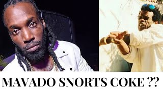 MAVADO CAUGHT NAKED WID MAN   EXPOSED AS DRUG ADDICT ACCORDING TO DANNY VENGEANCE .
