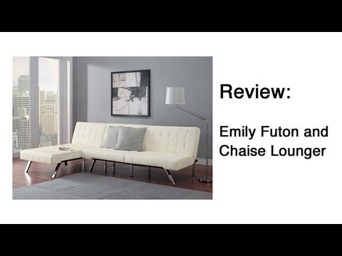 emily futon and chaise lounger review emily futon and chaise lounger review   youtube