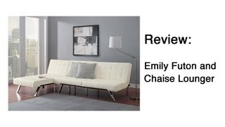 Emily Futon And Chaise Lounger Review
