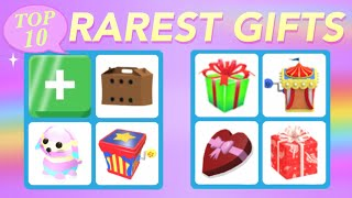 TOP 10 Rarest gifts in Adopt Me!