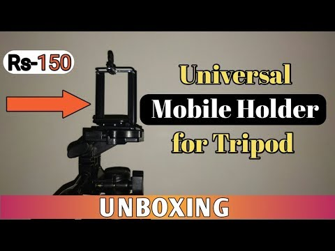 Universal Mobile Holder for tripod The cheapest one  | UNBOXING and Review