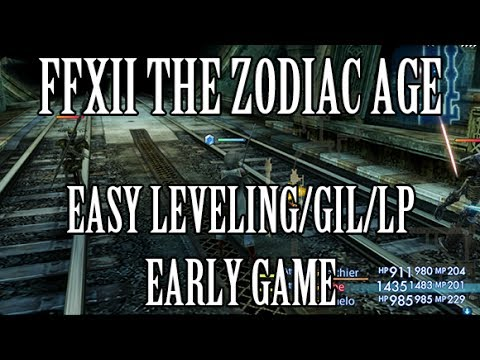 Final Fantasy XII The Zodiac Age AUTO LEVELING - Fast Leveling & Gil Farming - Version 0