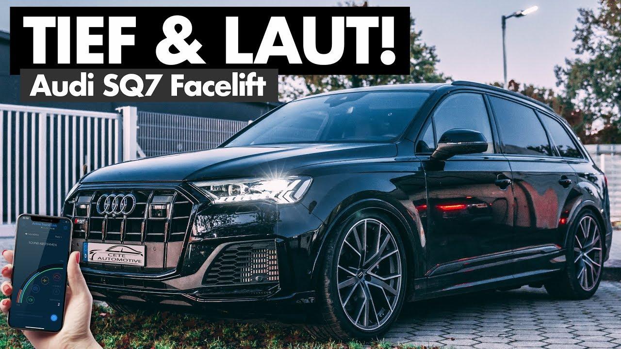 Soundmodul & Tieferlegungsmodul verwandeln diesen Audi SQ7 Facelift! | Cete Automotive