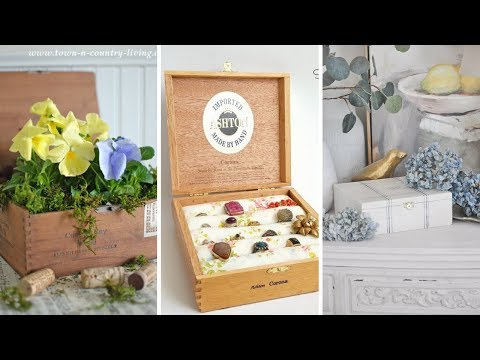 10 DIY Crafting and Storage Ideas from Cigar Boxes