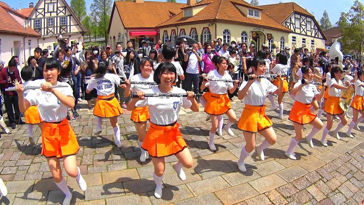 京都橘ブルーメンパレード2016 Kyoto Tachibana SHS Band (Apr 24, 2016 AM)