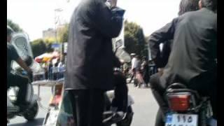 دوربینی که مچ دروغ بزرگ صدا و سیما را گرفتIR TV scam-Quds demo
