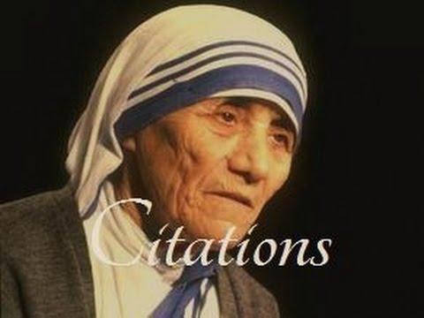 Les plus belles citations de Mère Teresa