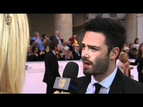 David Leon  Television Awards Red Carpet in 2011