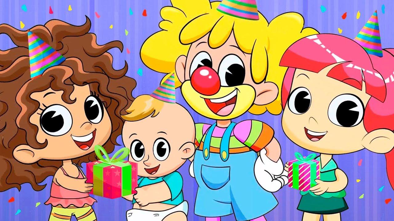 Cumpleaños Feliz Canciones Infantiles Youtube