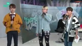 """170317 B.A.P HEYOTV Karaoke - """"FXXK IT"""""""