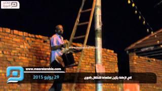 مصر العربية | نادي الزمالك يتزين استعدادا للاحتفال بالدورى