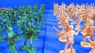 Bolsa de Soldados de Plástico - BATALLA - Toys Review