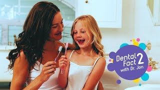 """Brushing"" - Dental Fact #2 - Safari Smiles Children's Dentistry"