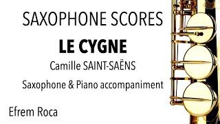 LE CYGNE – Camille SAINT-SAËNS – Saxophone & piano accompaniment
