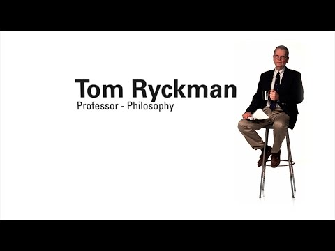 Faculty Profile - Tom Ryckman (Professor of Philosophy)
