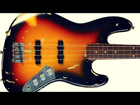 Jazz Blues | Bass Backing Jam Track (A)