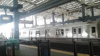 NYC Subway: Coney Island Yard bound B Train bypassing Coney Island-Stillwell Avenue Terminal