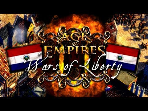 GRANDES BATALLAS con PARAGUAY | AGE of EMPIRES 3: WARS of LIBERTY