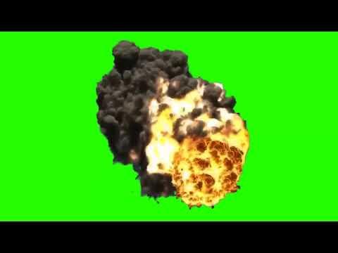 Футаж взрыва для монтажа MLG