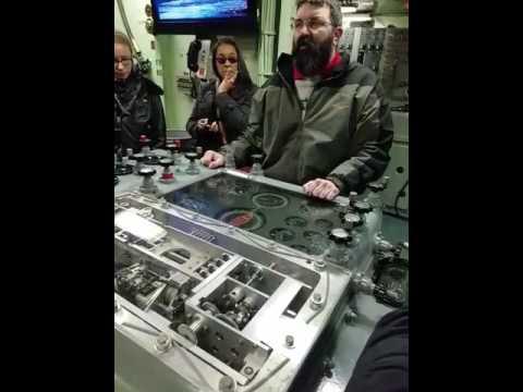 """Firing the 16"""" 50 caliber guns on the Battleship New Jersey"""