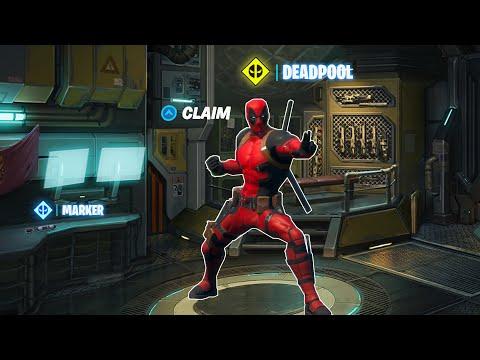Claim Deadpool Skin Early (WEEK 6 DEADPOOL CHALLENGES & WEEK 7 EXPLAINED - Find Deadpool's) Fortnite