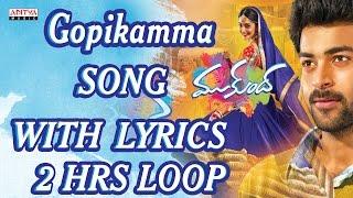 Gambar cover ★ 2 Hours Loop ★Gopikamma Full Song With Lyrics - Mukunda  Songs - Varun Tej, Pooja Hegde
