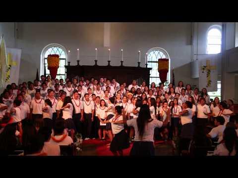 Kamehameha Schools Tri-Campus Worship 2014: KS Hawaii Seniors