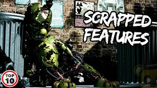 Top 10 FNAF Scrapped Features That Would Have Changed Everything