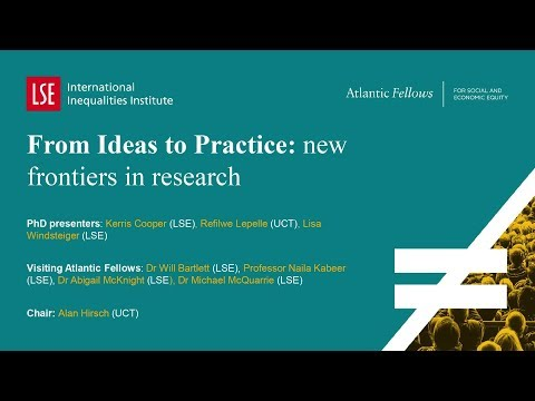 LSE III Annual Conference 2017 | From Ideas To Practice New Frontiers In Research