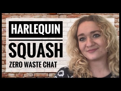 Vegan Cooking and Zero Waste Chit Chat - Roasted Harlequin Squash