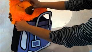 Необычные мультяшные 2-D (2-Д) Сумки - оптом и в розницу. zakaz@chemodaka.ru, +7(812)3098266(Смешной мультик про необычные яркие цветные 2-D сумки. Выглядят как плоские, а каковы 2-д сумки на самом деле?, 2013-10-17T17:29:04.000Z)
