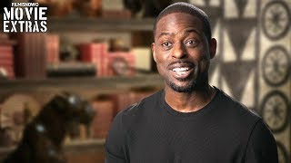 Black Panther | On-set visit with Sterling K. Brown