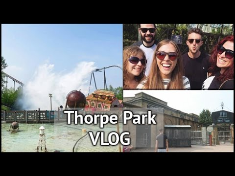Visiting Derren & Getting Soaked! | xameliax Thorpe Park Vlog