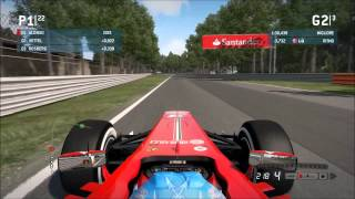 F1 2013 Gameplay PC - Monza - Ferrari [F.Alonso] - Ati HD7950 VX