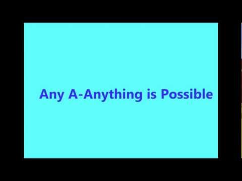 Victoria Duffield - Anything Is Possible (Lyrics)