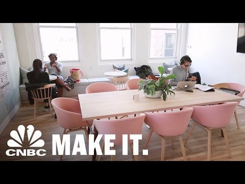 WomenOnly CoWorking Space Allows Women To Work In FemaleDriven Environment  CNBC Make It.