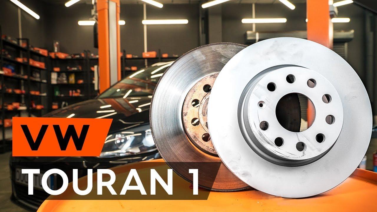 VW Touran 1T1 1T2 ATE Bremsen Bremsscheiben Bremsbeläge Vorne Hinte Komplettset