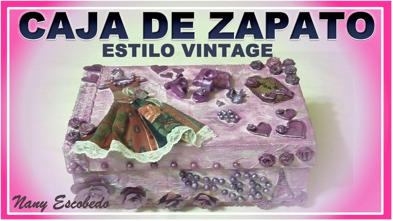 Cajas Decoradas Vintage