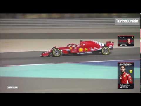 F1 2018 Bahrain GP Sebastian Vettel Winning Team Radio