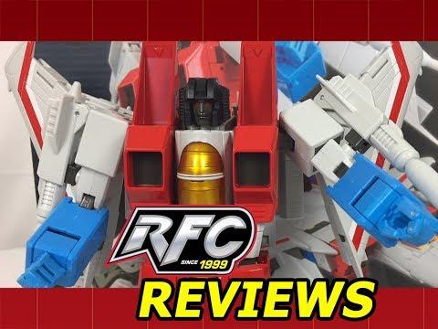 Maketoys MTRM-11 Meteor (Transformers Masterpiece Starscream) Review
