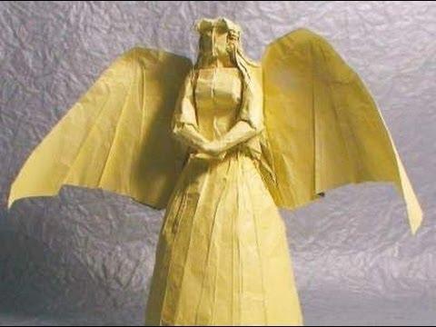 Origami Angel Tutorial Tadashi Mori Youtube