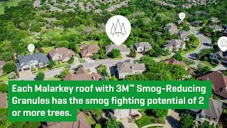 Improving our Environment - Malarkey Shingles 2020 video thumbnail