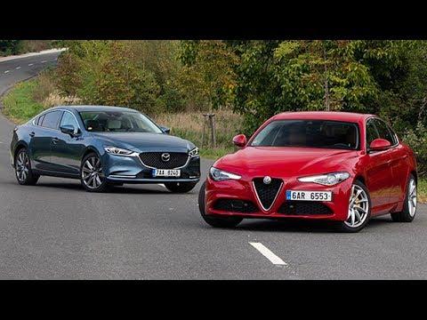 2018 Alfa Romeo Giulia Vs 2018 Mazda 6