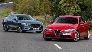 2019 Alfa Romeo Giulia vs 2019 Mazda 6