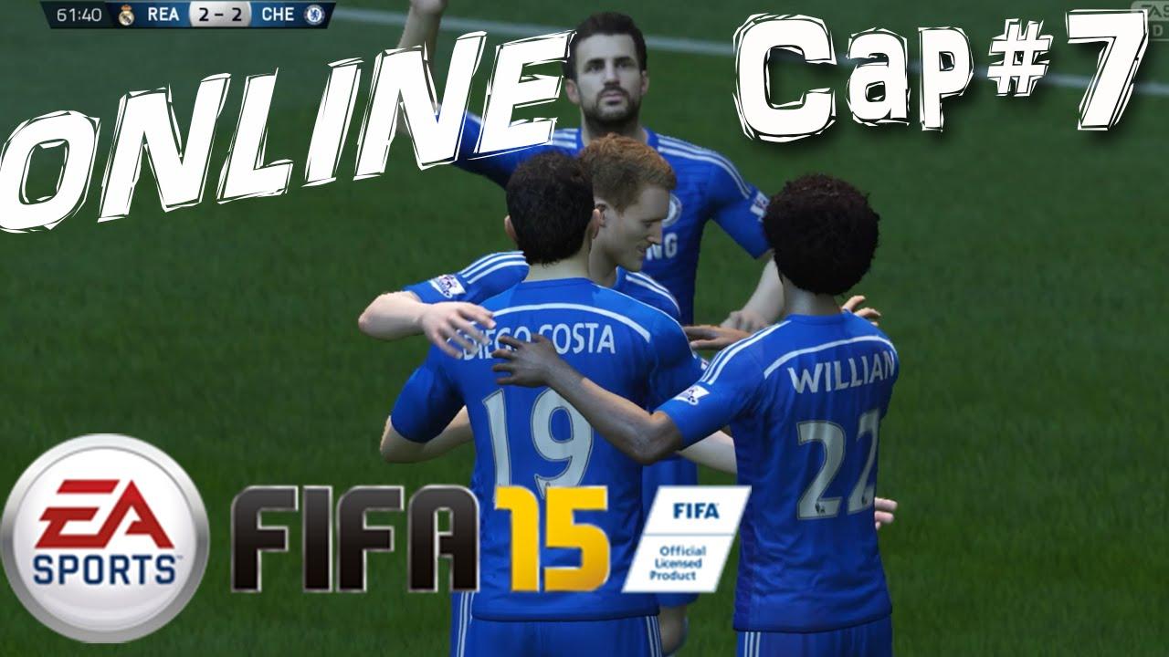 FIFA 15 | PS4 | Temporadas Online | Cap# 7. Chelsea vs ...