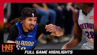 Orlando Magic vs Detroit Pistons 5.3.21 | Full Highlights